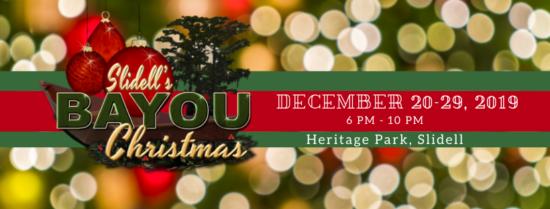 Bayou Christmas Slidell 2020 Bayou Christmas in Slidell | Lake 94.7
